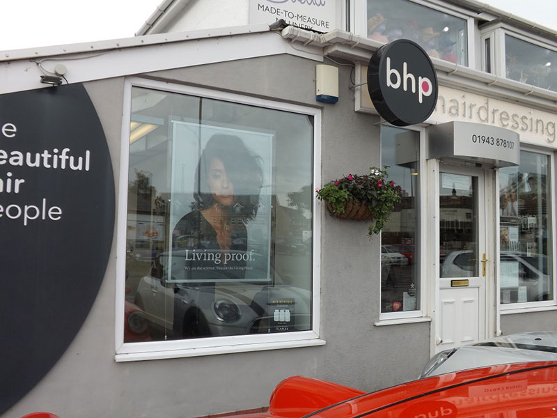 Bhp hairdressing salon in Guiseley, Leeds