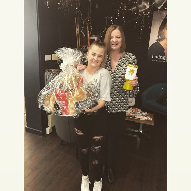 The raffle for Marie curie has been drawn by ourhellip